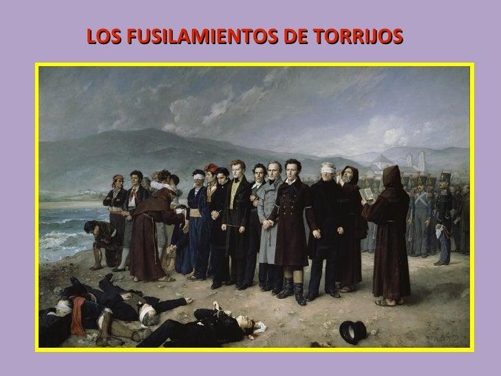 LOS FUSILAMIENTOS DE TORRIJOS