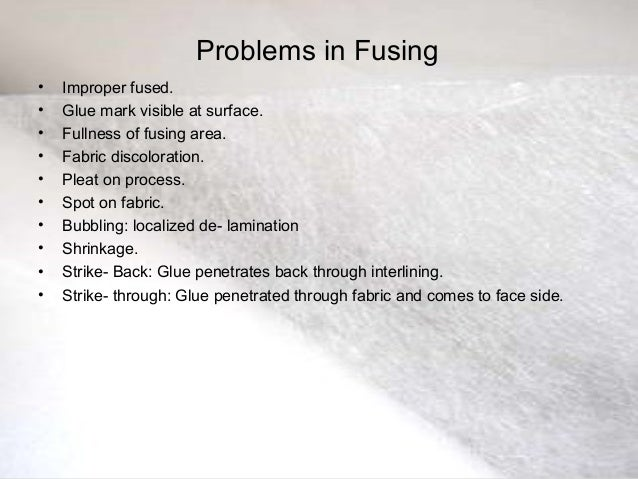 fusing machinery and equipments