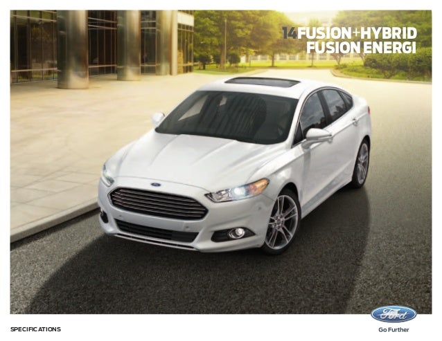 14fusion+hybrid fusion energi  Specifications