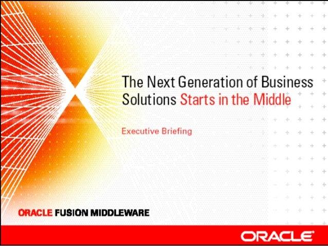 Oracle's Fusion Strategy Thomas Kurian Senior Vice President Oracle Server Technologies