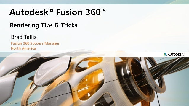Fusion360 Rendering deep dive (updated)