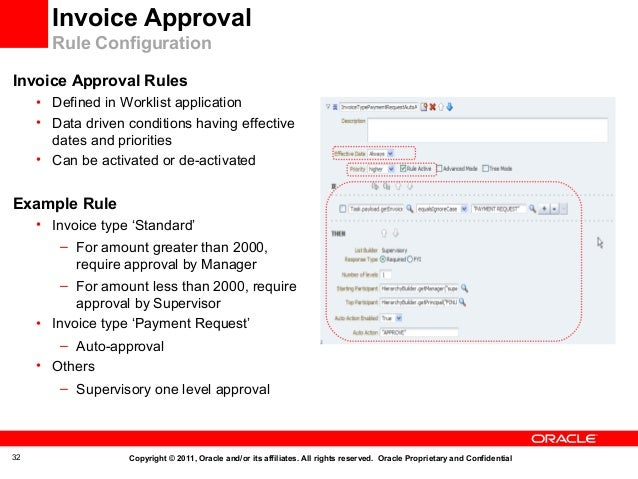 Oracle Fusion Applications Accounts Payables - Steps to approve an invoice for payment