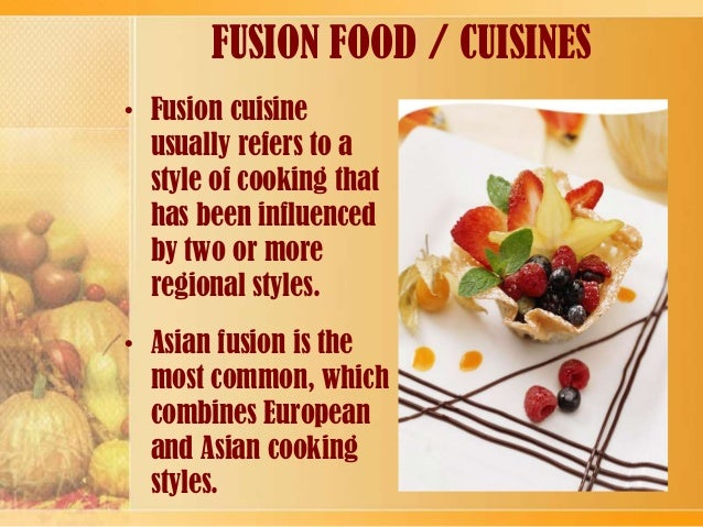 Indian Western Fusion Food Recipes