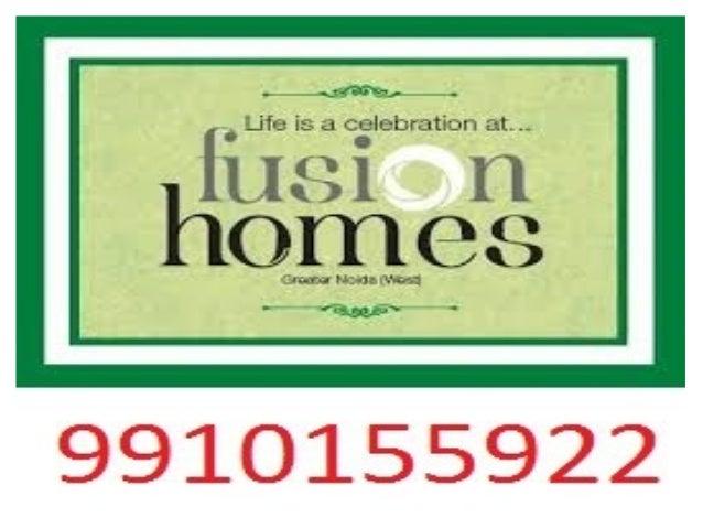 Fusion Homes Resale - 9910155922 Noida Extension Flats