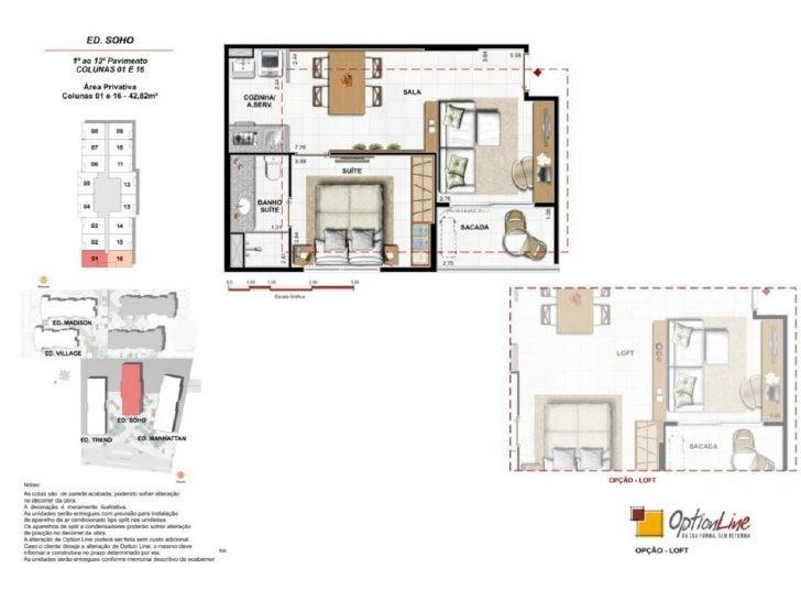 Village e Madison Residencial de 2 e 3 quartos                                                 Imagem provisória