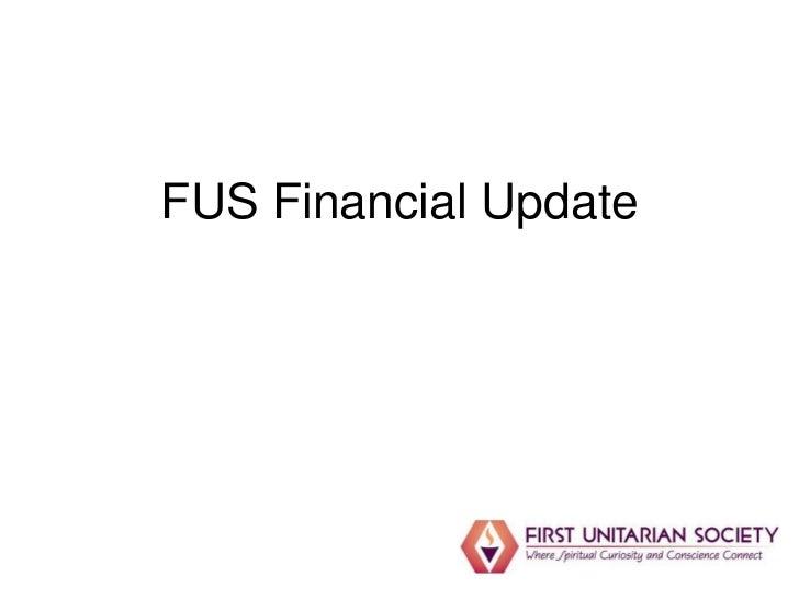 FUS Financial Update