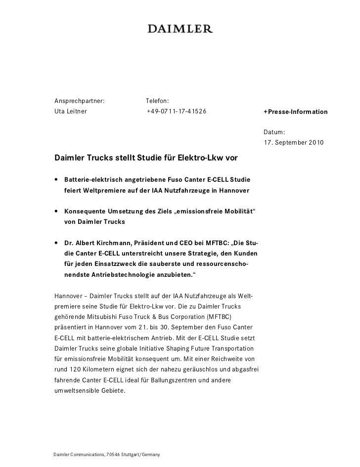 Ansprechpartner:                        Telefon:Uta Leitner                             +49-0711-17-41526               +P...