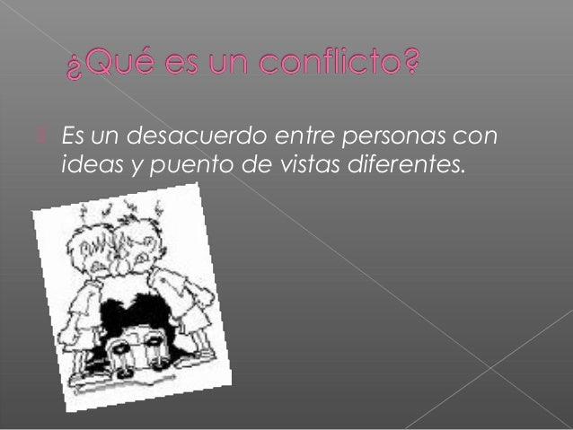 Manejo de Conflictos y Violencia Slide 2