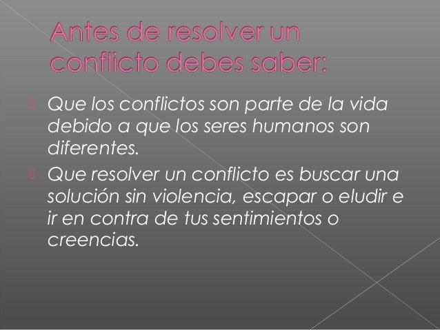 Manejo de Conflictos y Violencia Slide 3