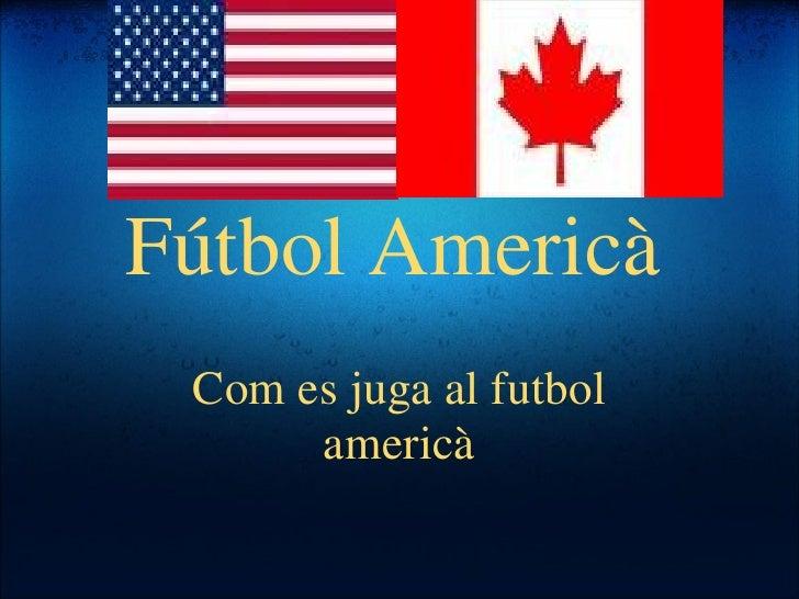 Fútbol Americà Com es juga al futbol americà