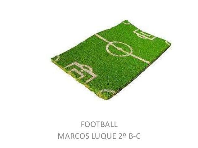 5 FOOTBALL MARCOS LUQUE 2º B-C