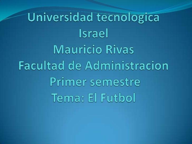 Introducción El fútbol (del inglés football), también  llamado futbol, balompié o soccer, es un deporte de equipo jugado ...