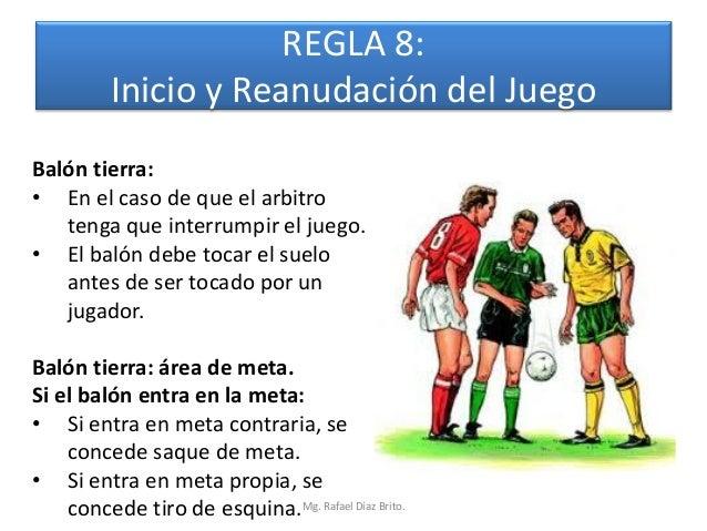 Reglas del f tbol de campo for 5 reglas del futbol de salon