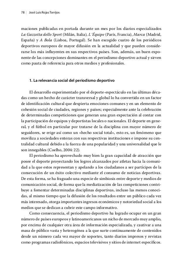 78   José Luis Rojas Torrijos maciones publicadas en portada durante un mes por los diarios especializados La Gazzetta del...