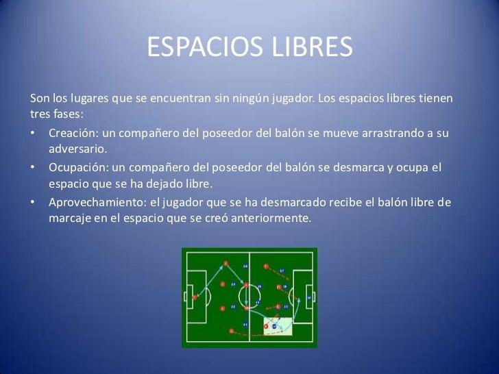 ESPACIOS LIBRESSon los lugares que se encuentran sin ningún jugador. Los espacios libres tienentres fases:• Creación: un c...