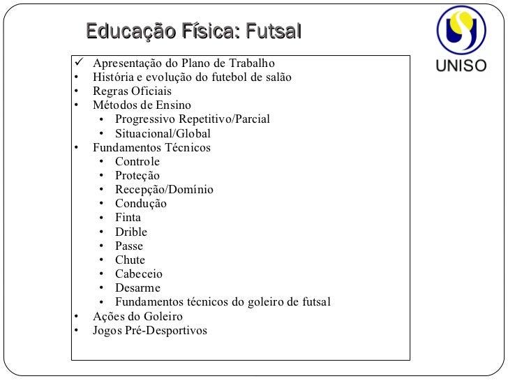 6a73f87776 Tag  Plano De Aula Ensino Fundamental 2 Educação Fisica Futsal
