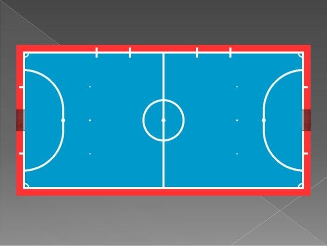 Futsal 10 1 for Pista de futbol sala medidas
