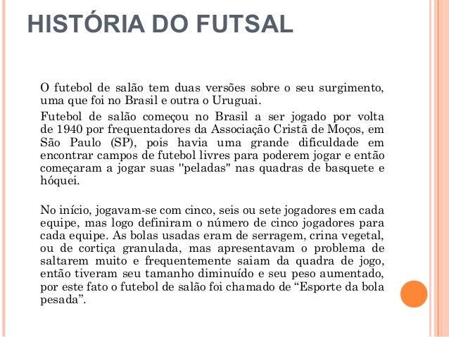 a87c34b122d29 FUTSAL FUTEBOL DE SALÃO  2.