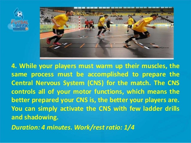 cns activation warm up