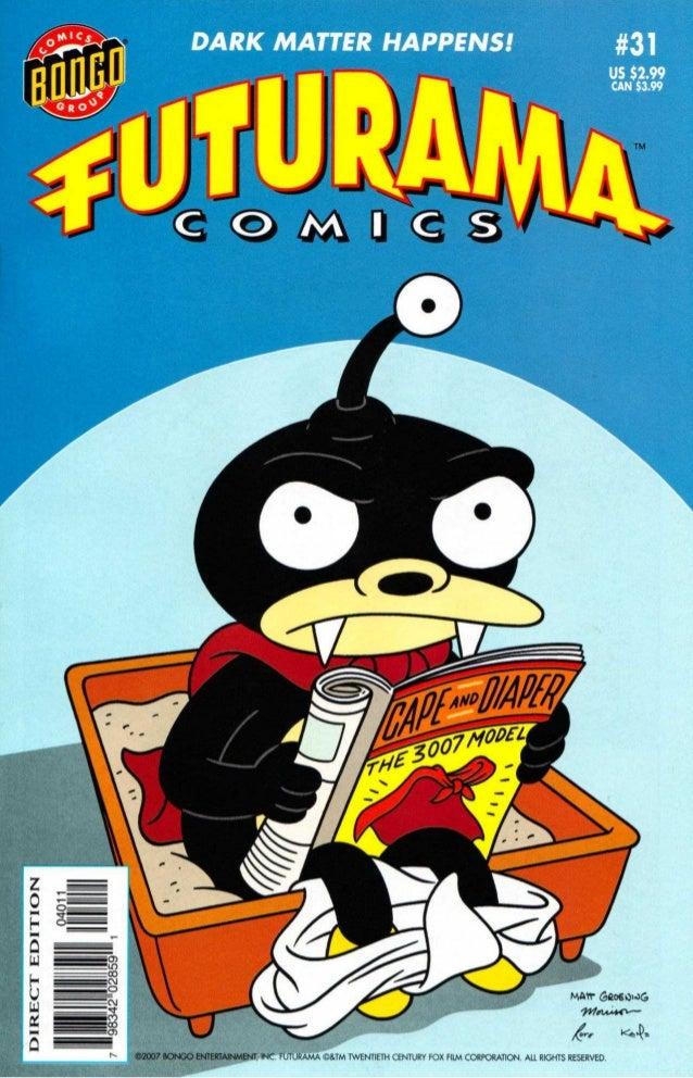 Futurama comics 31