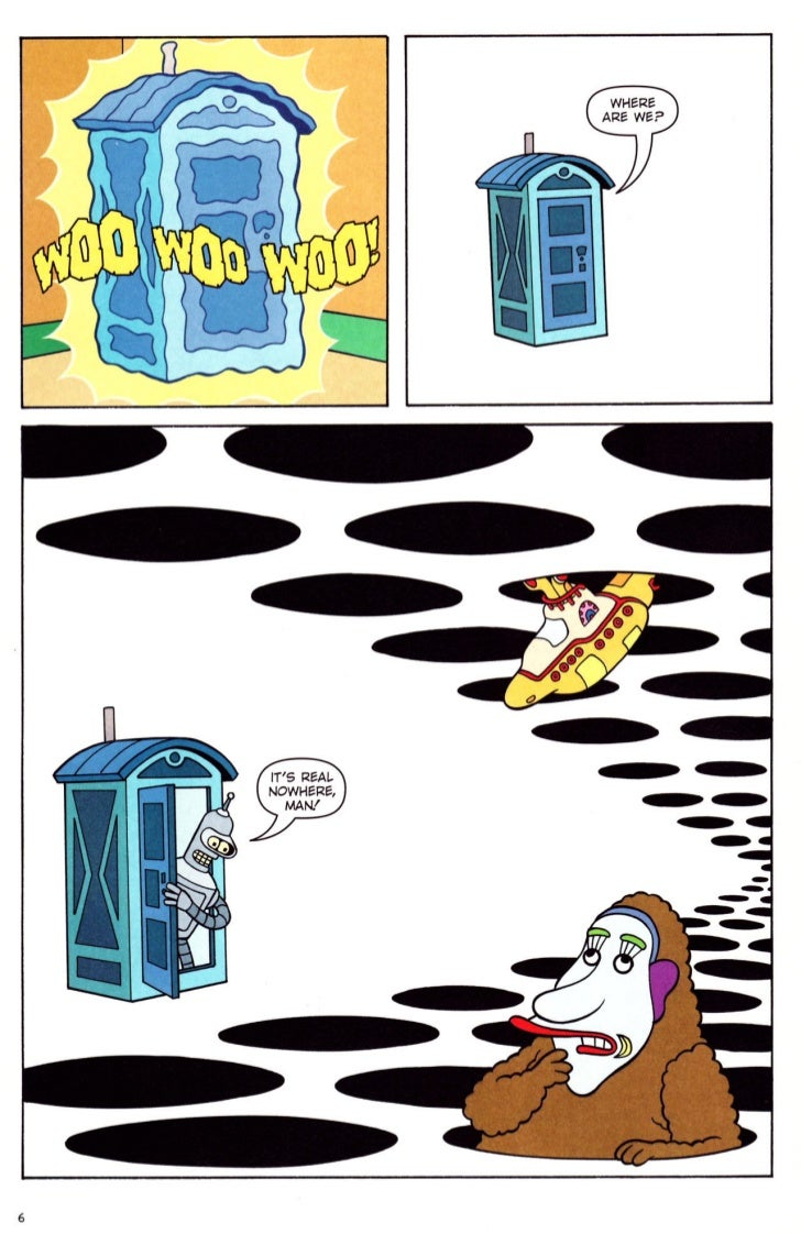 Futurama comics 32