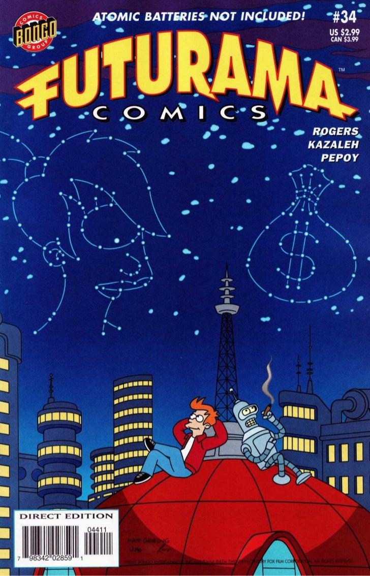 Futurama comics 34