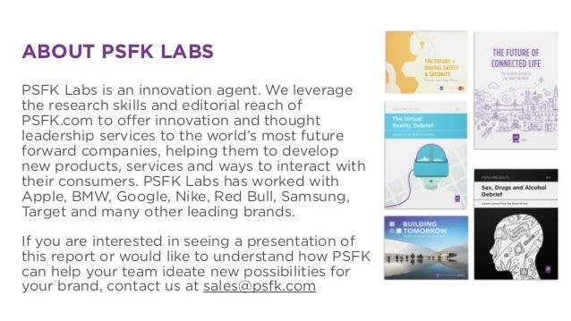 PSFK Future Of Health Report - Summary Presentation Slide 3