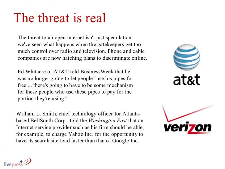 The threat to an open internet isn't just speculation — we've seen what happens when the gatekeepers get too much control ...