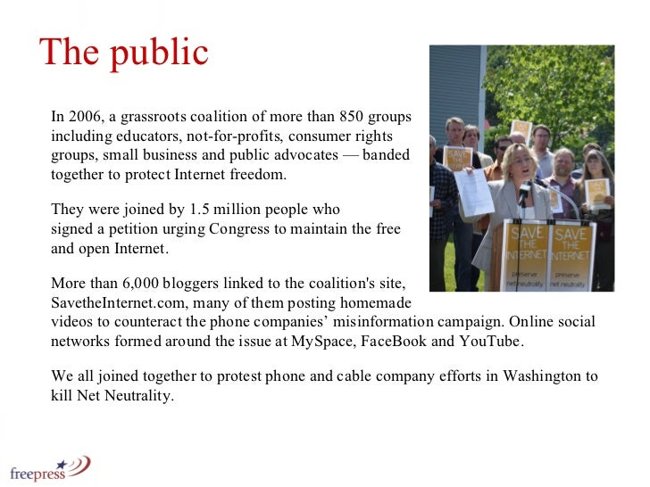 In 2006, a grassroots coalition of more than 850 groups  including educators, not-for-profits, consumer rights  groups, sm...