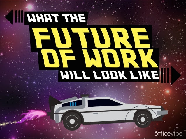 WHAT THE FUTURE OF WORK WILL LOOK LIKE WHAT THE WILL LOOK LIKE FUTURE OF WORK