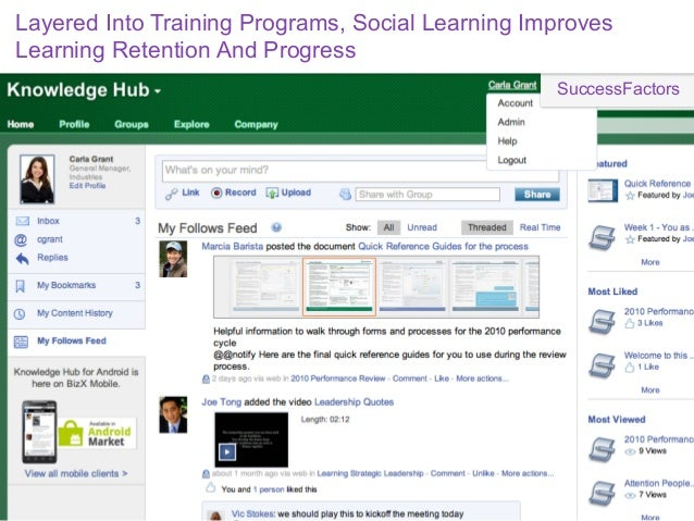 Social Knowledge Platform Facilitates Knowledge Transfer,Builds Expertise-Based Reputations                               ...