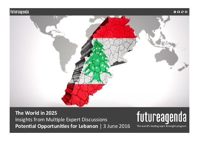 The  World  in  2025   Insights  from  Mul0ple  Expert  Discussions     Poten1al  Op...