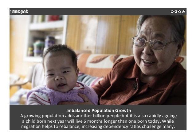 ImbalancedPopulaOonGrowth Agrowingpopula0onaddsanotherbillionpeoplebutitisalsorapidlyageing: achildbor...