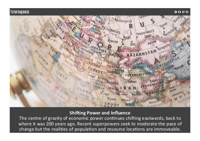 ShiUingPowerandInfluence Thecentreofgravityofeconomicpowercon0nuesshi_ingeastwards,backto whereitwas200...