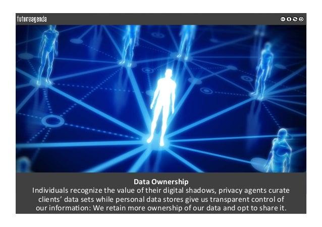 DataOwnership Individualsrecognizethevalueoftheirdigitalshadows,privacyagentscurate clients'datasetswhile...