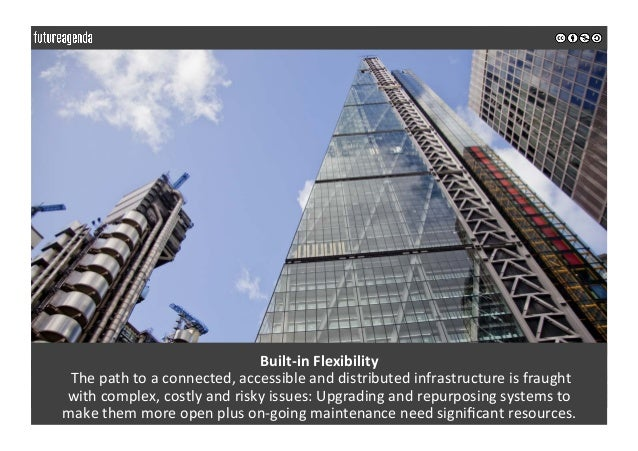 Built-inFlexibility Thepathtoaconnected,accessibleanddistributedinfrastructureisfraught withcomplex,costl...