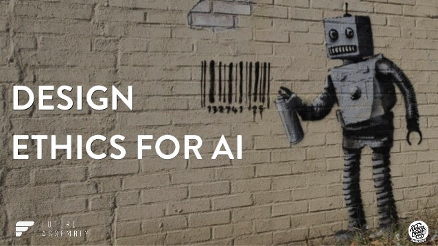 design ethics for artificial intelligence