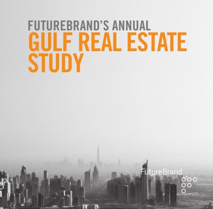 Futurebrand's annual GulF real estate study