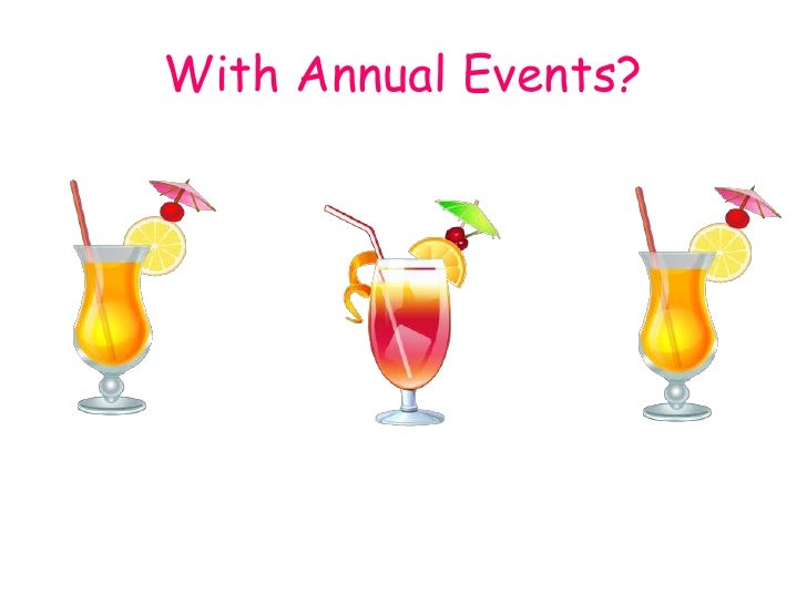 With Annual Events?<br />