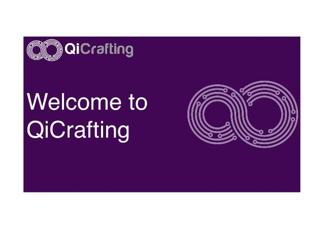 Welcome to QiCrafting!