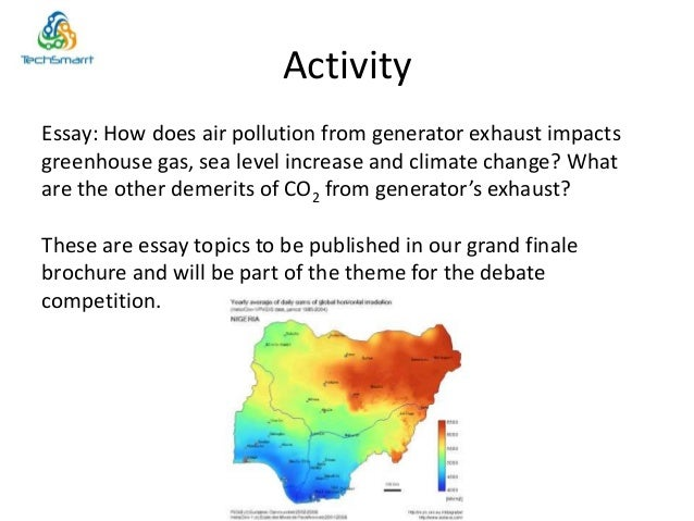 world bank essay how does climate change The world bank does not guarantee the accuracy of the data included in this work the boundaries, colors, denomina- tions, and other information shown on any map in this work do not imply any judgment on the part of the world bank or.