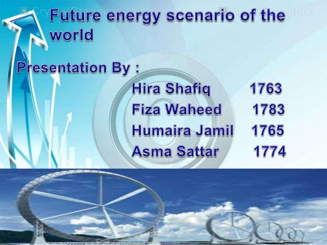 Energy scenario Alternative images of how the future might unfold and are an appropriate tool with which to analyze how dr...