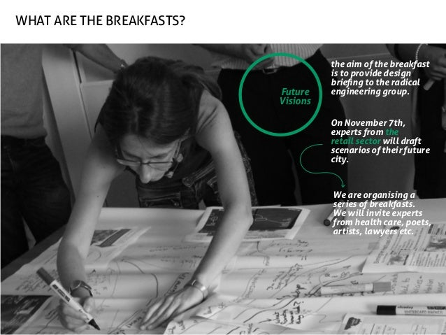 what are the breakfasts?  Future Visions  the aim of the breakfast is to provide design briefing to the radical engineerin...