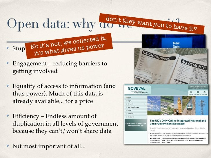 don't the Open data: why do we want tit?ve it?                            o ha                                            ...