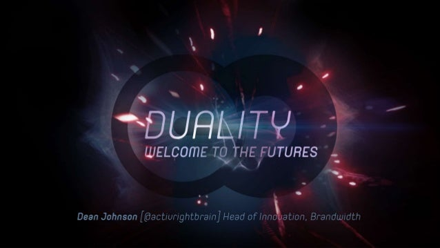 Duality: Welcome to The Futures