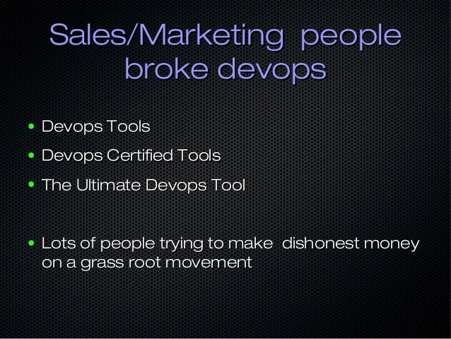 "#enterprise devops#enterprise devops ● """"You can only change small organisations""You can only change small organisations"" ..."
