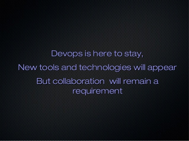 Is there a future for devops ?
