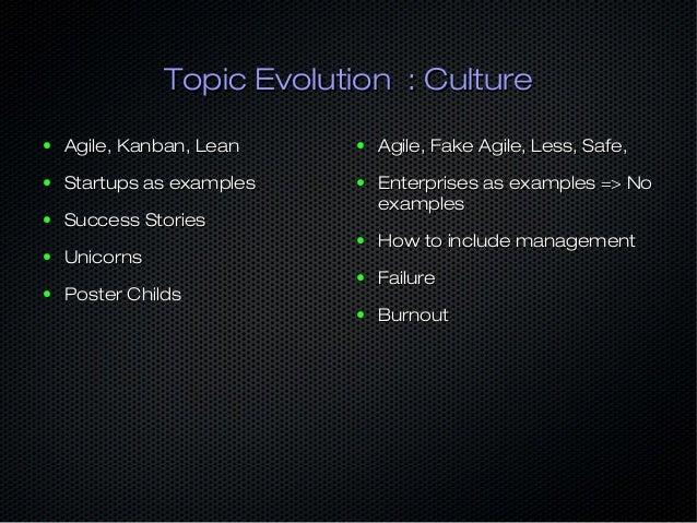 Topic Evolution : AutomationTopic Evolution : Automation ● Cfengine, Puppet, ChefCfengine, Puppet, Chef ● Mcollective, Noa...