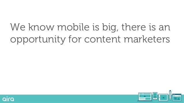 1) Artificial intelligence is growing 2) Mobile isn't really about mobile 3) Content discovery is mobile first
