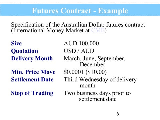 Options trading settlement date